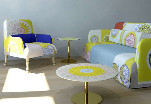 Colorfully Eclectic Furniture