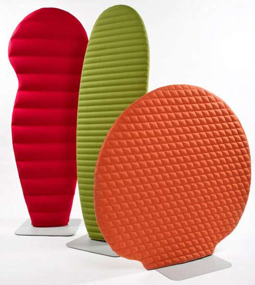 Cushioned Privacy Panels