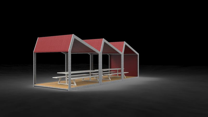 Outdoor Office Pavilions