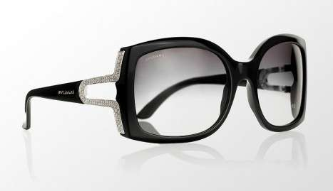 Bvlgari offers limited edition diamond sunglasses