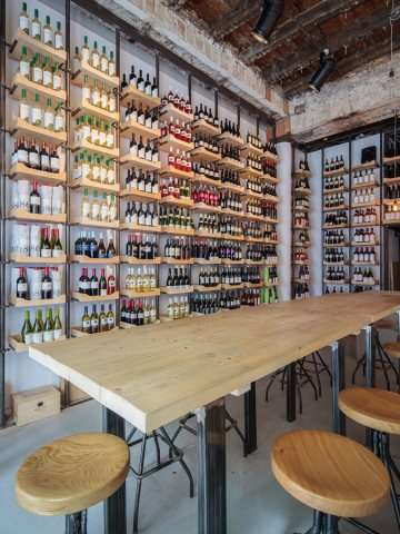 Expansive Wine Libraries