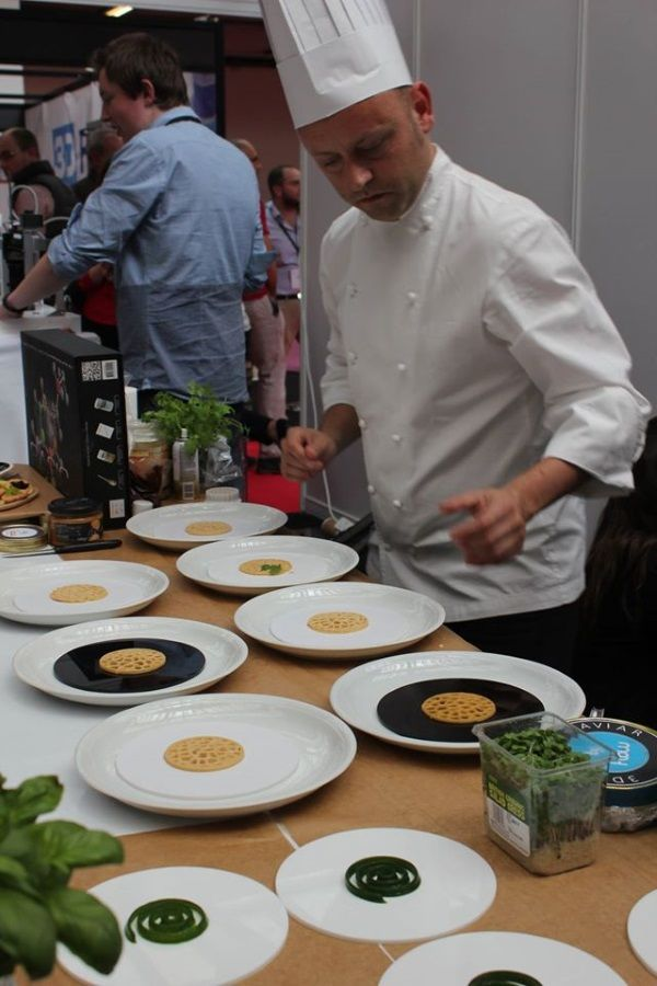 Food-Printing Restaurants