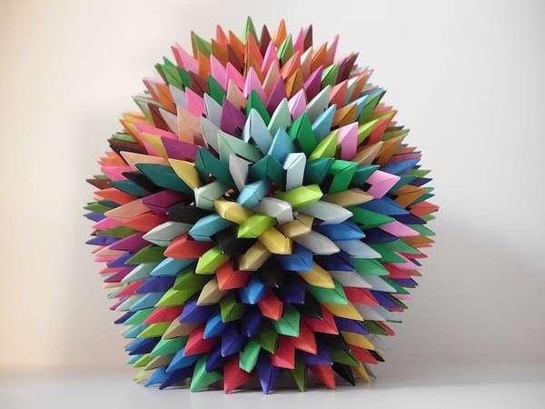 Overlapping Origami Stars