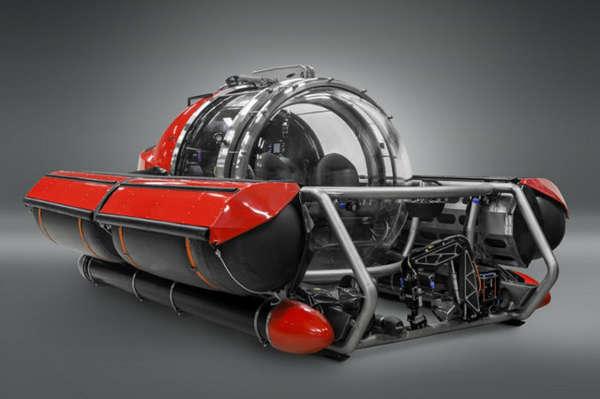 Luxe Underwater Submarines