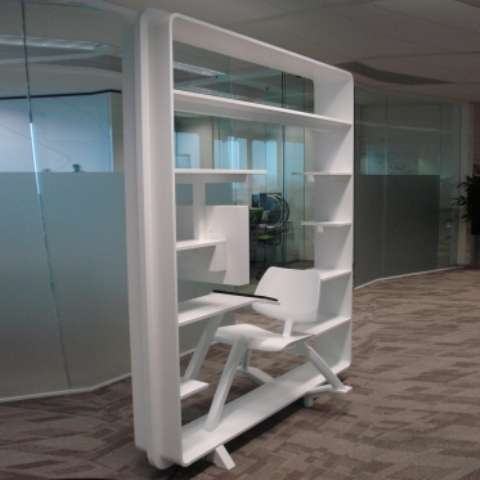 Bookcase-Workspace Hybrids