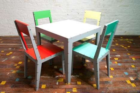 Technicolor Interwoven Furniture