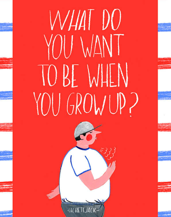 Cheeky Colorful Illustrations