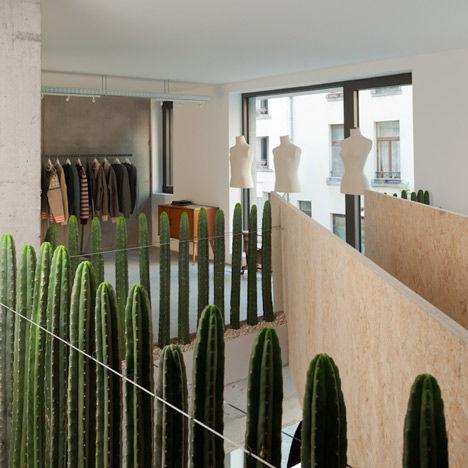 Cactus-Replaced Railings