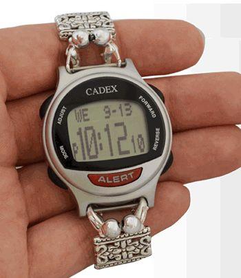 Medication reminder watches cadex platinum for Cadex watches