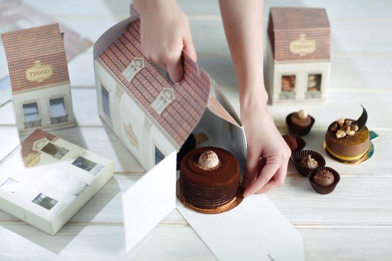Village-Inspired Cafe Packaging