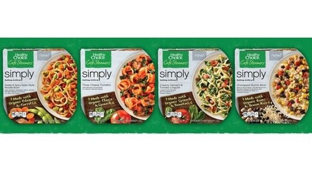 Organic Microwaveable Meals