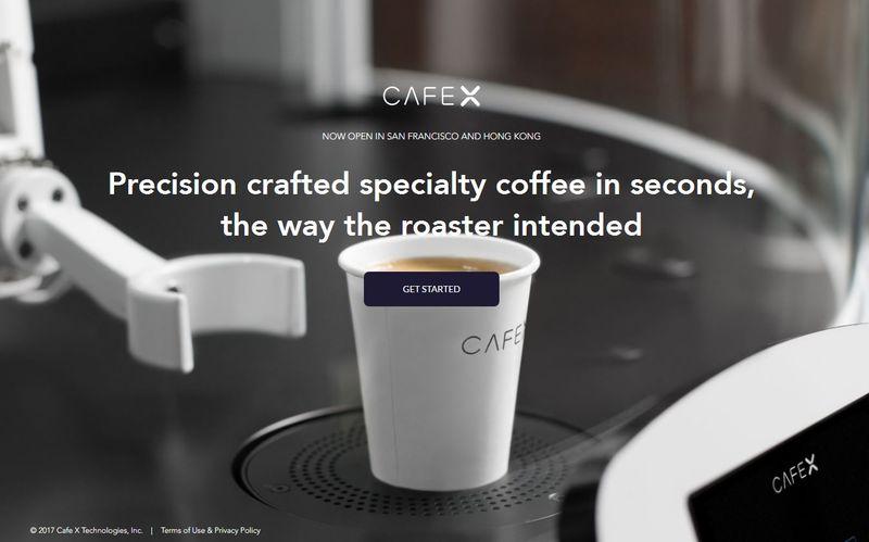 Robotic Cafe Baristas