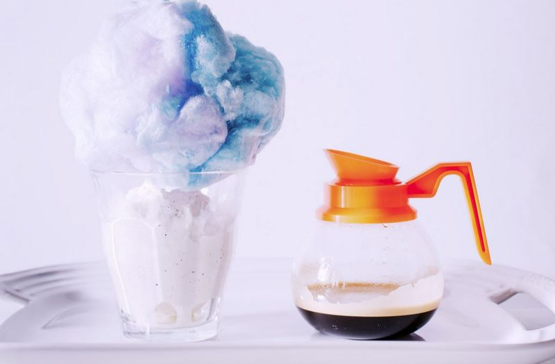Caffeinated Cotton Candy Treats