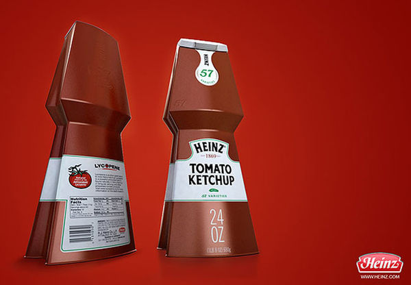 Restructured Condiment Containers