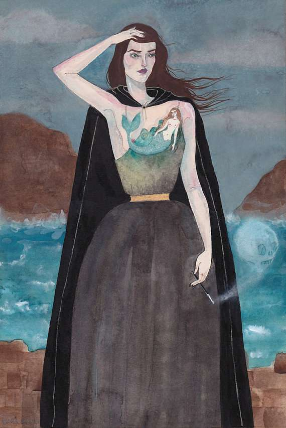 Pristine Femme Fatale Artwork