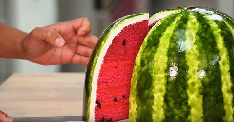 Deceiving Watermelon Cakes