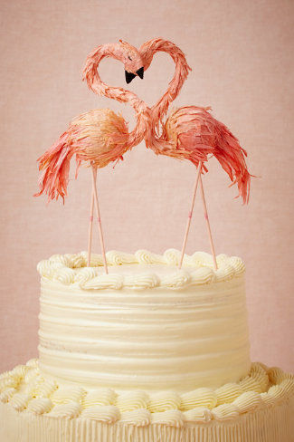Avian-Themed Cake Decorations