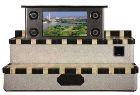 Pop-Up Outdoor Plasma Screen
