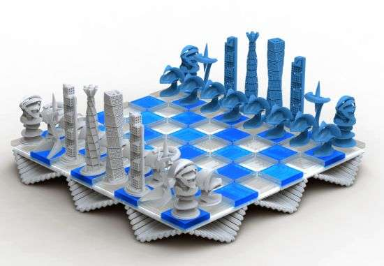 Calatrava Chess Set