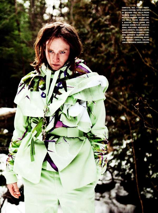 Eclectic Wooded Editorials