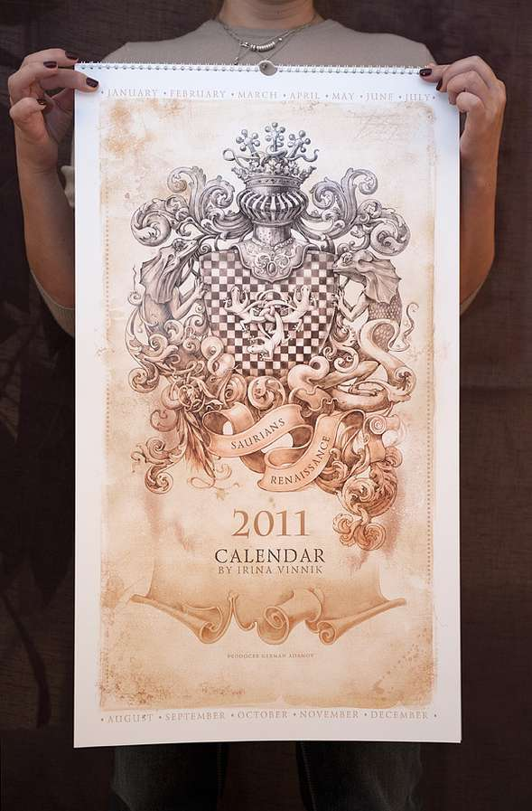 Calendar by Irina Vinnik