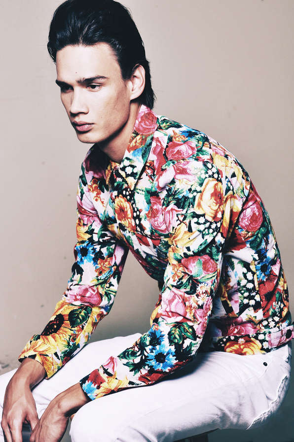 Flamboyantly Floral Menswear