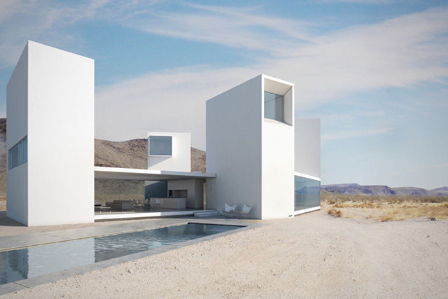 Minimalist California Mansions