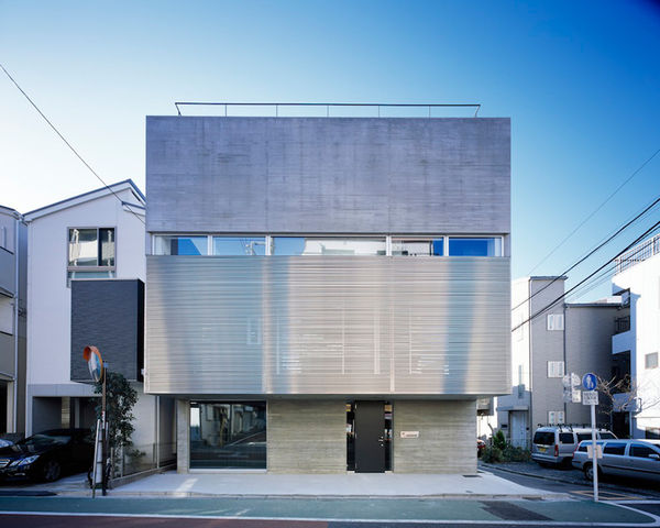 Intimately Modern Concrete Houses