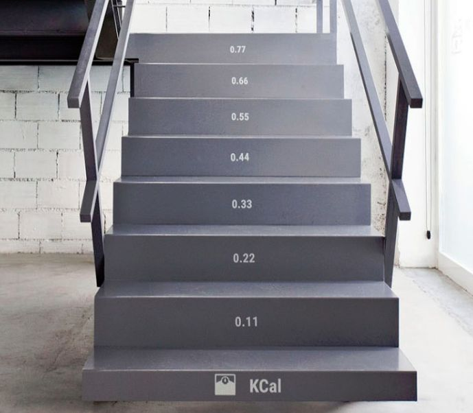 Calorie-Counting Stairs