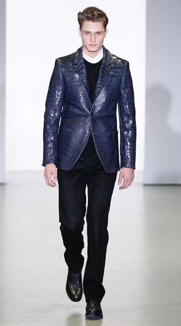 Crocodile Skin Suiting