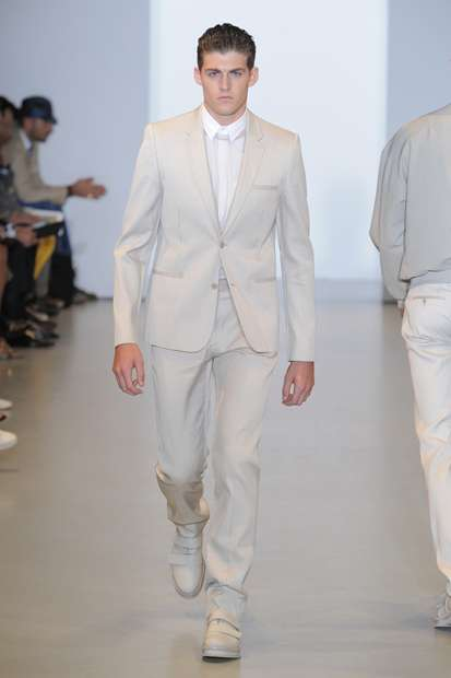 Minimalist Monochromatic Menswear