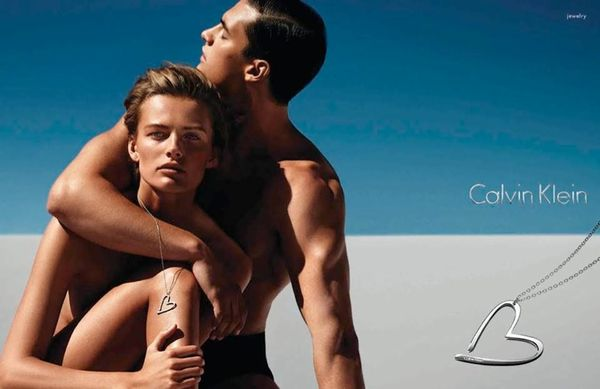 Bronzed Couple Fashion Ads