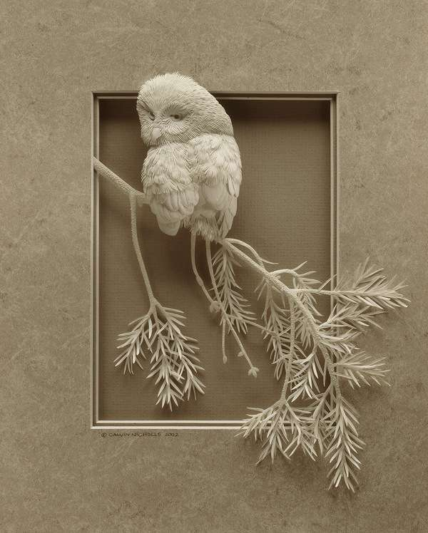 Intricate Paper Sculptures