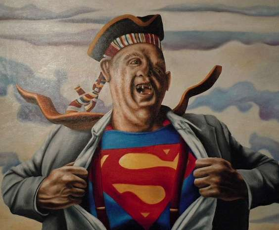 Absurdist Pop Culture Paintings