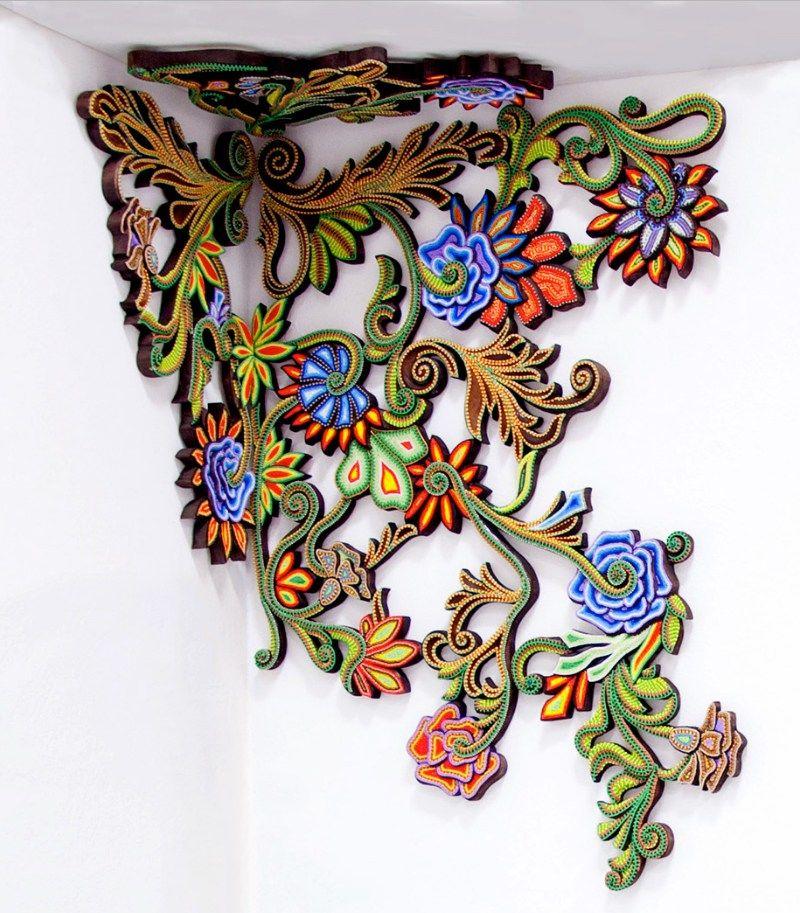 Modular Floral Wall Ornaments