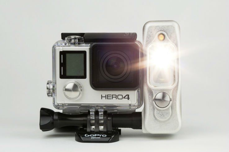 Functional Action Cam Flashes