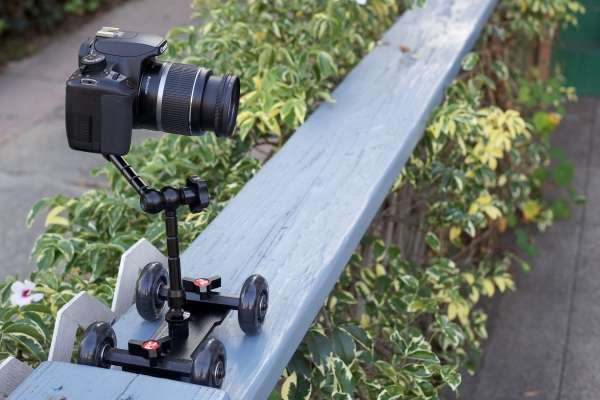 Robotic DSLR Pushcarts