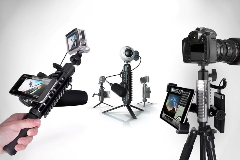 Three-in-One Photography Mounts