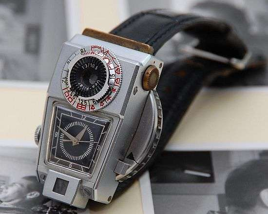 $60,000 Retro Camera Watch