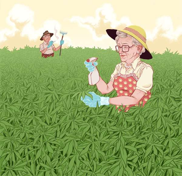 Animated Marijuana Illustrations