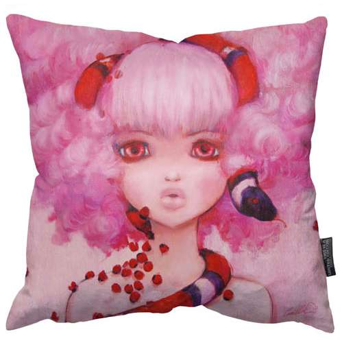 Camilla D'Errico Pillow