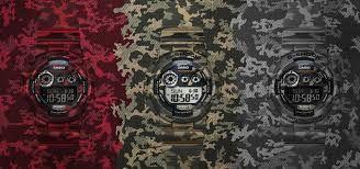 Captivating Camouflage Range Timepieces