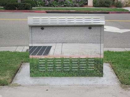 Camouflaged Public Art