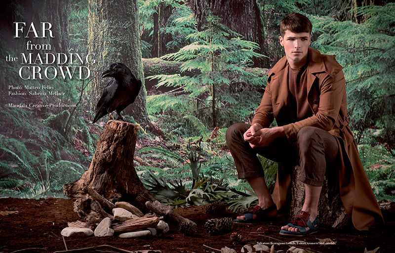 Elegant Outdoorsman Editorials