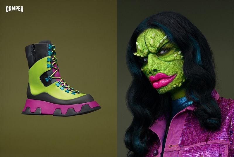 Humanized Footwear Editorials