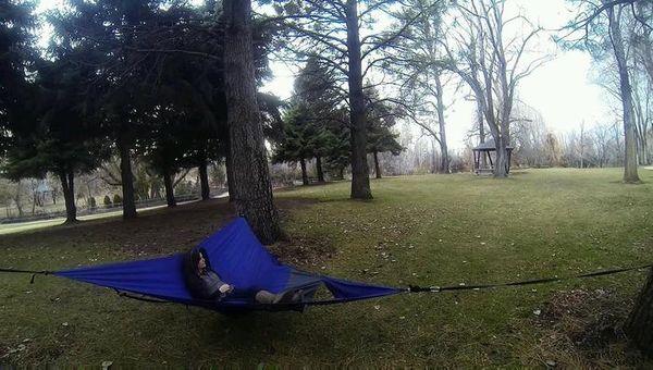 multi purpose hammocks   camping hammocks  rh   trendhunter