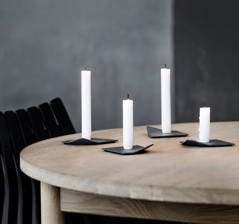 Arctic-Inspired Candleholders