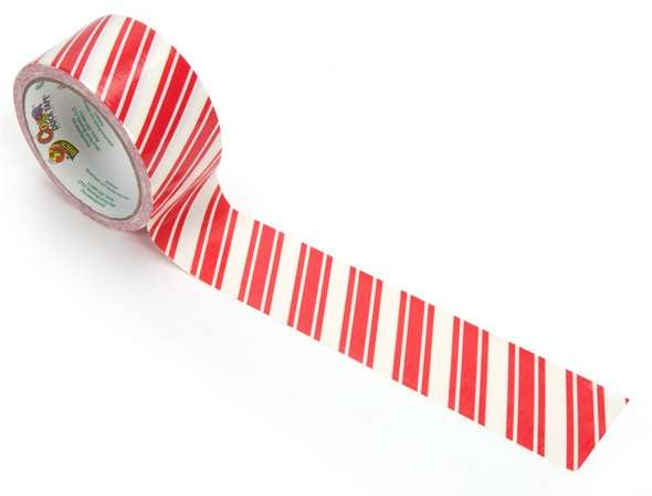 Candy Cane Wrapping Decor