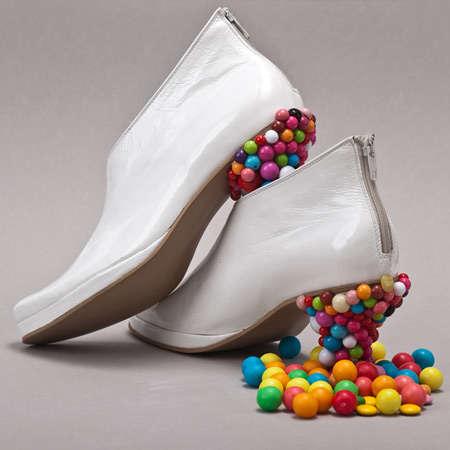 Blue Candy Shoes by PhotoBySavannah