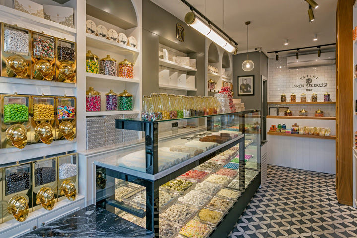 Contemporary Sweet Shops
